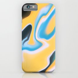 Yellow Yell iPhone Case