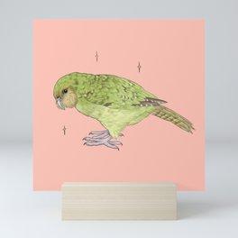 Kakapo Fundraiser Mini Art Print