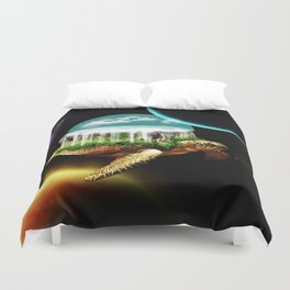 The great A Tuin Duvet Cover