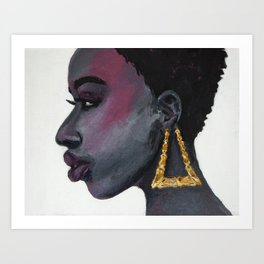 The sound of light Art Print