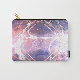 Abstract Ripple Reflection Carry-All Pouch