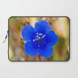 Desert Bluebell Alternate Perspective Laptop Sleeve