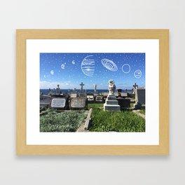 Starcrossed Souls Framed Art Print