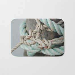 TIED TO THE MOORING #1 Bath Mat