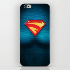 SUPERGIRL SUIT iPhone & iPod Skin