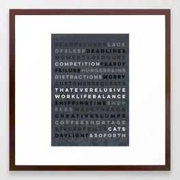 An Artist's Life #2 Framed Art Print