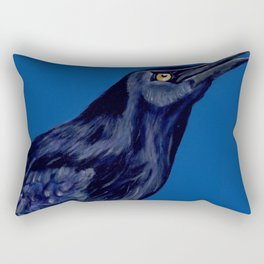 Male Grackle Rectangular Pillow