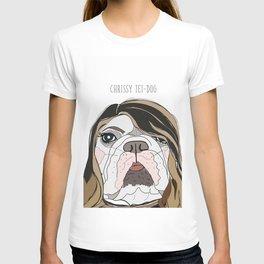 Celebrity Dogs-Christy Tei-Dog T-shirt