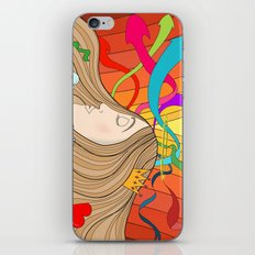 LOST IN HER DREAMS iPhone & iPod Skin