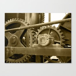 Heavy machinery Canvas Print