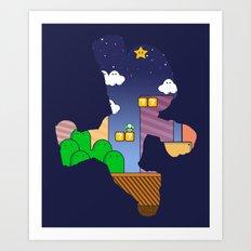 Hero:Plumber Art Print