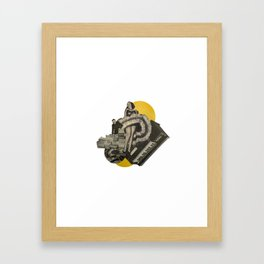 Come see about me Framed Art Print