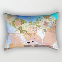My vintage heaven rose adventure Rectangular Pillow