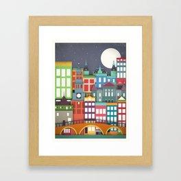 Touristique - Amsterdam Framed Art Print