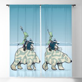 Nature warriors: From Pole to Pole Blackout Curtain