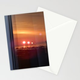 4 Suns in a Window Stationery Cards