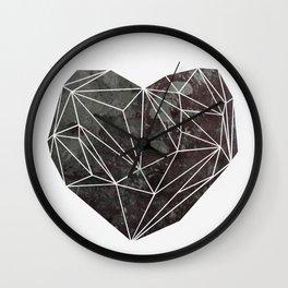 Heart Graphic 4 Wall Clock