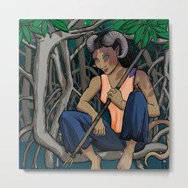 Ippa: Druid of the Mangroves Metal Print