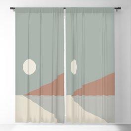 Geometric Landscape 03 Blackout Curtain
