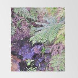 Hunua Falls2, NZ Throw Blanket