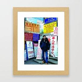 Signs Framed Art Print