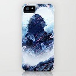 Magma Girl iPhone Case