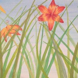 Art Print - Lily Bloom - Courtney B. Downing