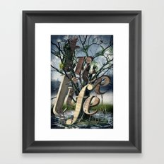 Tree Life Framed Art Print