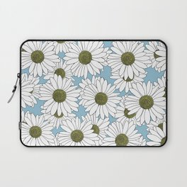 Daisy Blue Laptop Sleeve