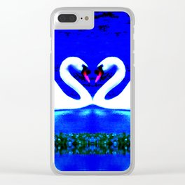 Heavenly Love Clear iPhone Case