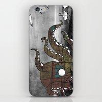 kraken iPhone & iPod Skins featuring Kraken  by Dániel Marton