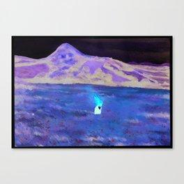 La Nube Roja by David de la Heras Canvas Print