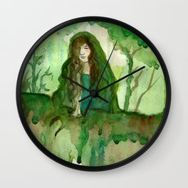 Akka The Earth Goddess Wall Clock