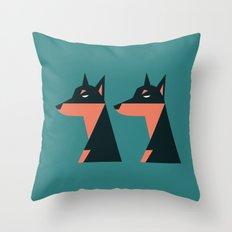 Zeus & Appolo Throw Pillow