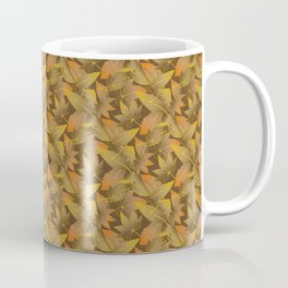 Autumn Leaves Pattern Coffee Mug