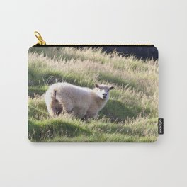Watercolor Sheep, Domestic Sheep 12, Heimaey, Iceland Carry-All Pouch