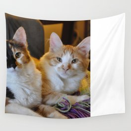 Whisky and Gypsy - Rescued Wall Tapestry