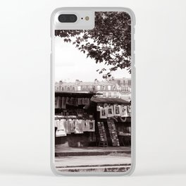Paris Book Vendors Clear iPhone Case