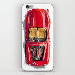Rosso Corsa iPhone Skin