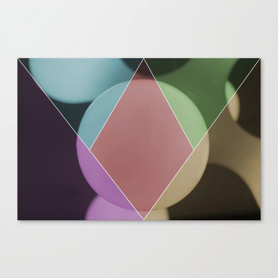 colour dimonds Canvas Print