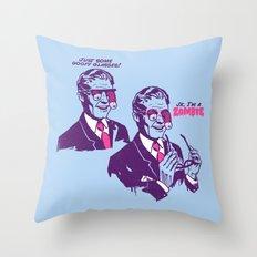 Pranked Throw Pillow