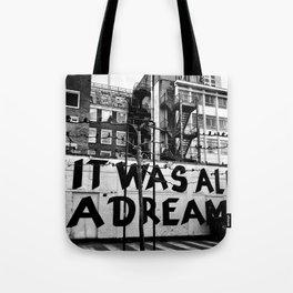 /// reality check Tote Bag