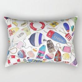 Buoy Collection Rectangular Pillow