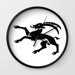 Fourth Beast of Switzerland Wall Clock