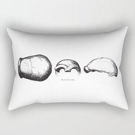 The Neanderthal Skull Rectangular Pillow
