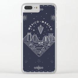 México mágico - Magic Mexico Clear iPhone Case