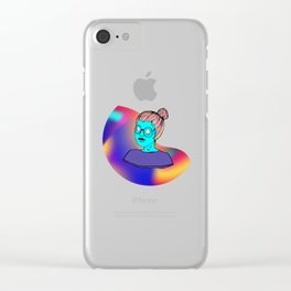 NO EYES NO SOUL #2 Clear iPhone Case