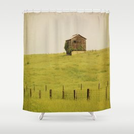 Summer Pastures Shower Curtain