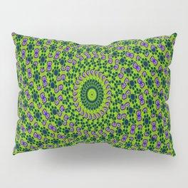 Green Mosaic Pillow Sham