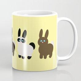 United colors of bunnies Coffee Mug